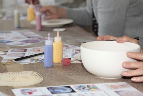 Ceramic painting - SIS
