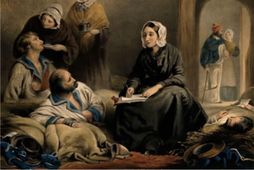 Florence Nightingale painting