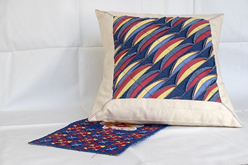 Vibrant pillow design